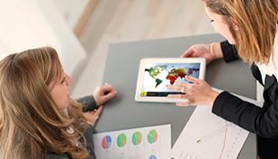 Nuestras presentaciones son una gran herramienta comercial, con que presentar los servicios de la compañía y mejorar la experiencia del cliente