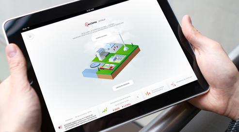 Creamos infografías interactivas, adaptadas para web o app multiplataforma