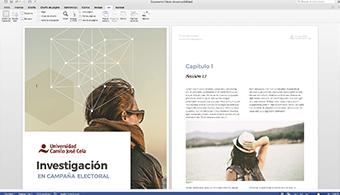 Diseñamos plantillas corporativas en Microsoft Word y Excel para representar presupuestos, fichas, informes