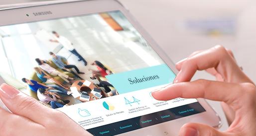 Realizamos documentos interactivos adaptados a todos los medios y formatos