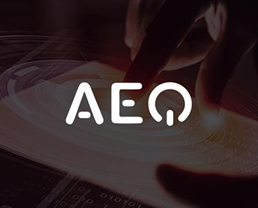 Creamos la plantilla corporativa en Power Point para la empresa AEQ