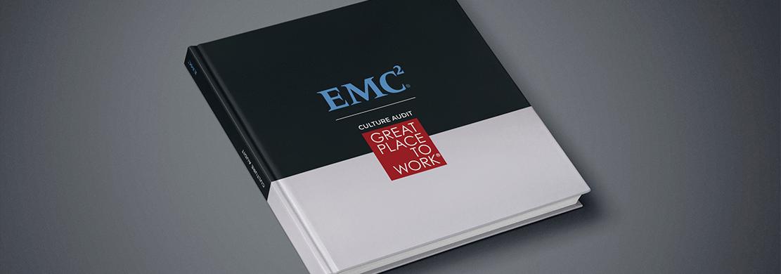 Ejemplo del documento corporativo Culture Audit Spain 2014 que hemos diseñado para EMC2