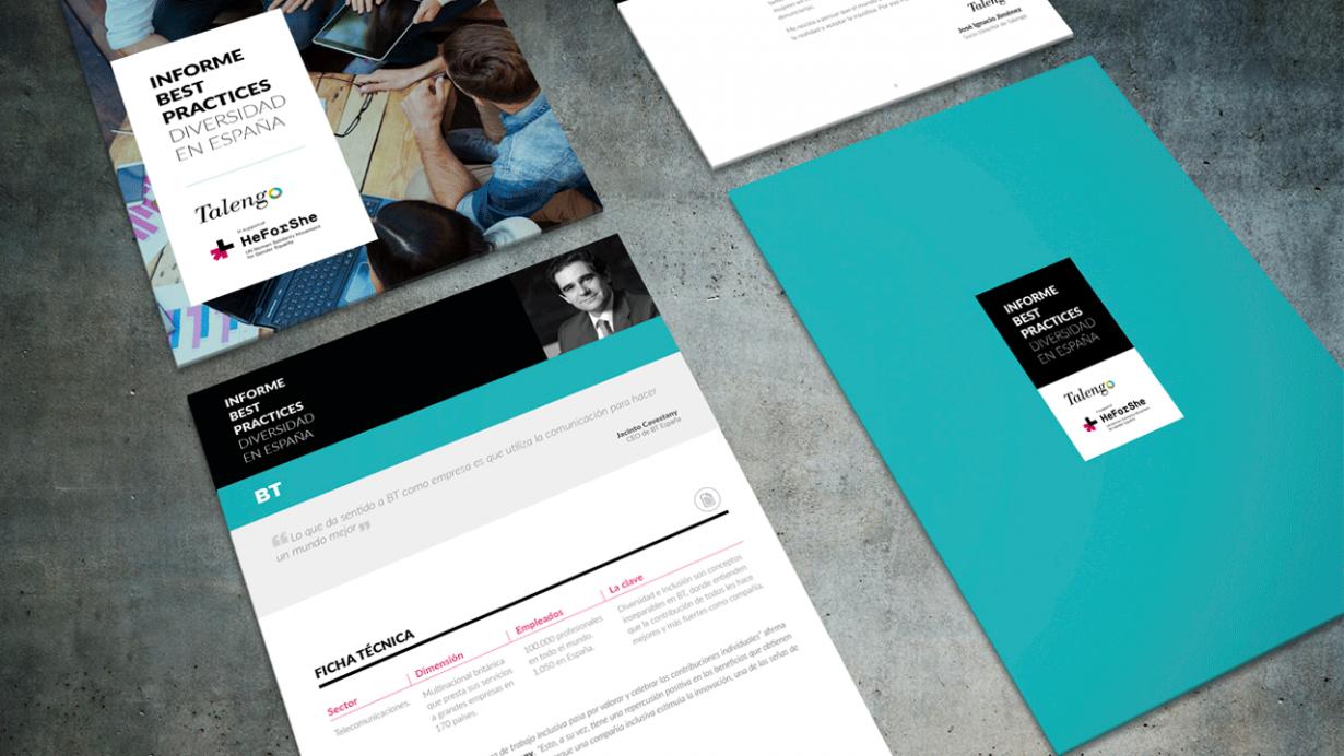 Elaboramos el documento corporativo Best Practices Diversidad en España encargado por la empresa Talengo