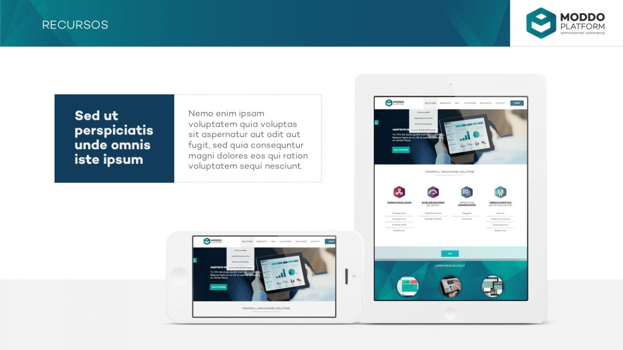 Moddo: PowerPoint corporativo - VisualOne