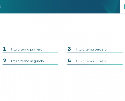 Realizamos la plantilla corporativa en Power Point para la empresa Moddo