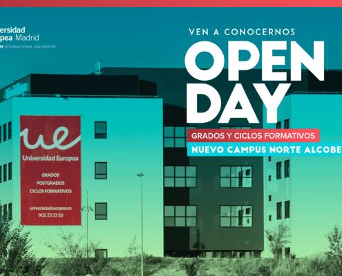 Elaboramos la presentación para el evento Open Day o Día de Puertas Abiertas organizado por la Universidad Europea