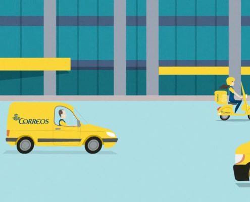 Diseñamos y animamos el vídeo infográfico para Correos